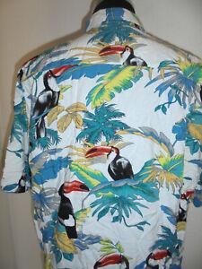 vintage-Hardwood-Hawaii-Hemd-shirt-surf-80er-jahre-surfer-80s-oldschool-XXL