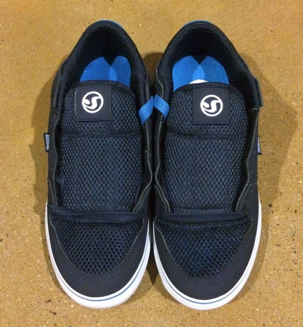 DVS Munition CT Sandbar Series Size 12 Navy Militia BMX DC Skate Wakeskate Shoes