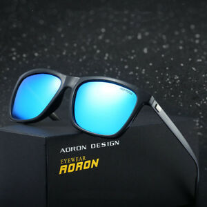 5f523f1d3f Image is loading AORON-Polarized-Sunglasses-Mens-Driving-Outdoor-Sports- Eyewear-