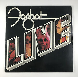 Foghat Live 1977 Bearsville Records Vinyl LP Album Record