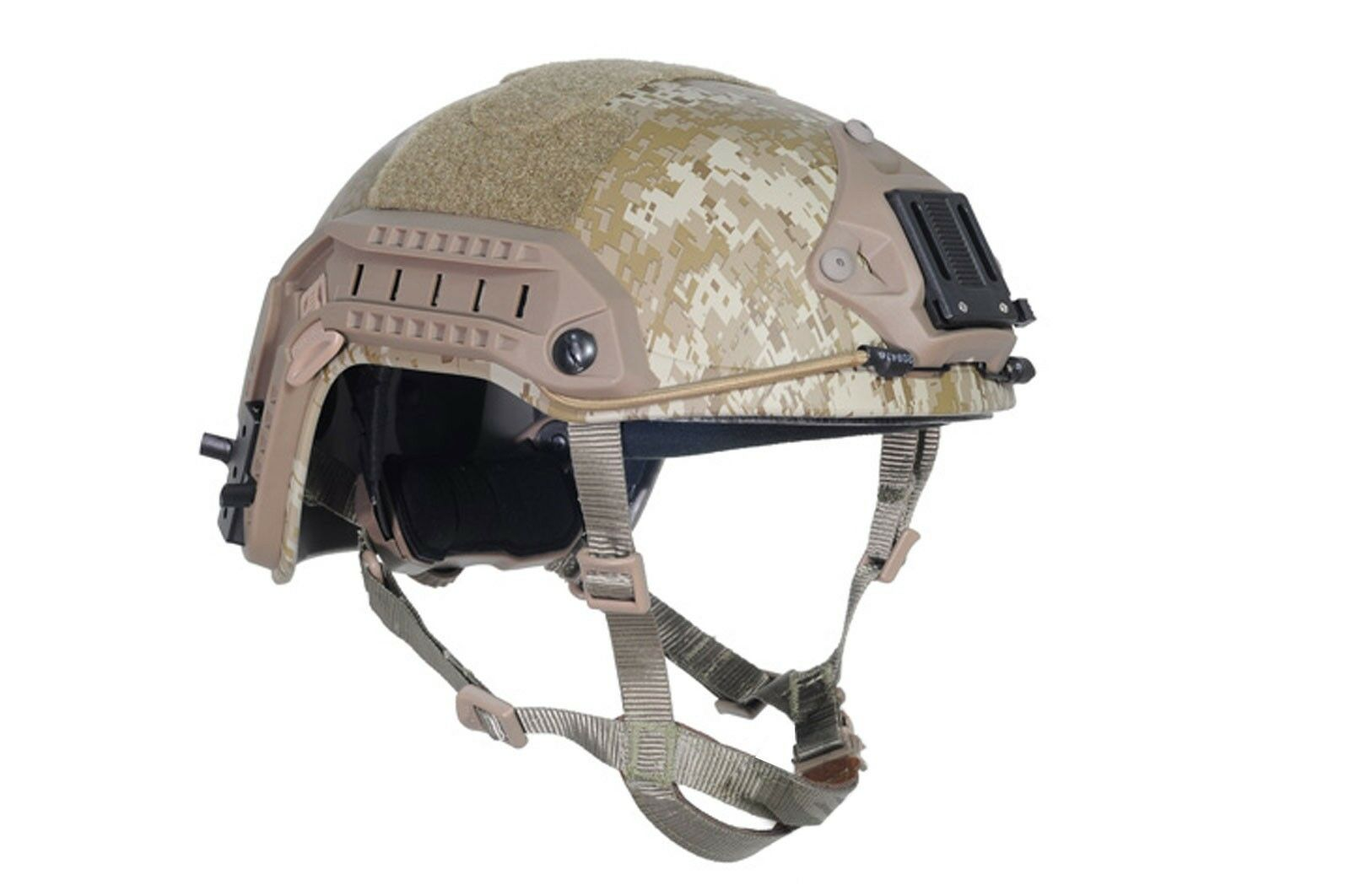 NEW Airsoft CS Predective FMA maritime Helmet Digital Desert TA830 M L