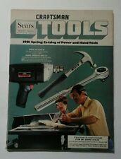 1981 Spring Sears Craftsman Tool Catalog Vintage