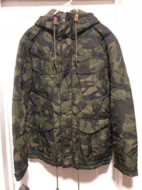 Polo Ralph Lauren Camo Camouflage Quilted Jacket Coat Mens ...