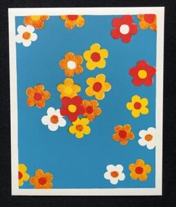Stephen Craig, Flowers III, farblithographie, 2007, firmato a mano