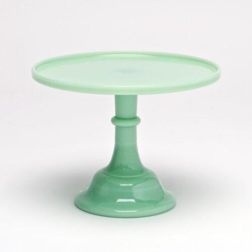 Jadeite Mosser Glass Cake Plate