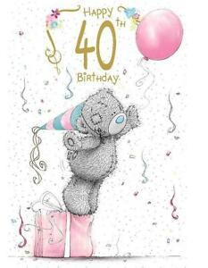 Party Decorations Tatty Teddy 6 x 40th Birthday Me to You Bear Balloons