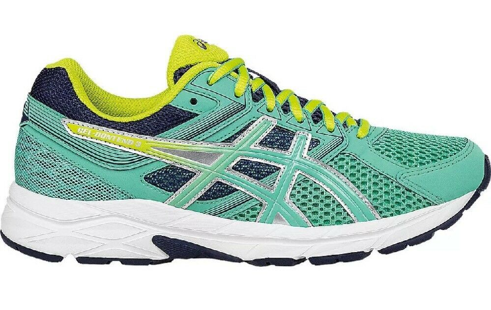 New Asics T5F9N-3889 GEL-Contend 3 Blue Women's Running Shoes Size 7 US