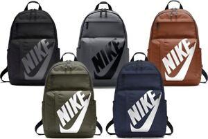 Detalles Escolar Gimnasio Nike Ver Título Elemental Unisex De Viaje Deportivo Sportswear Bolso Mochila Para Original f6bgY7y