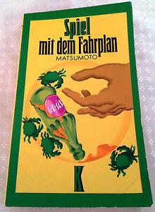 Spiel mit dem Fahrplan von Matsumoto - Deutschland - Spiel mit dem Fahrplan von Matsumoto - Deutschland