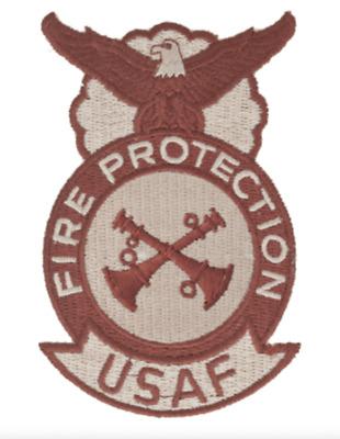 USAF Assistant Crew Chief Desert Patch 2 Bugle AF-P111D Parallel