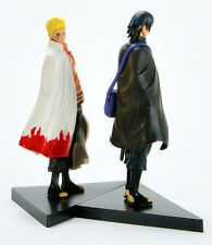 Naruto Movie The Last Uzumaki Sasuke Uchiha PVC Figure Anime Toy 2 pcs New 16cm