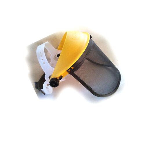 Gesichtsschutz Forsthelm mit Netz für Motorsensen Neu