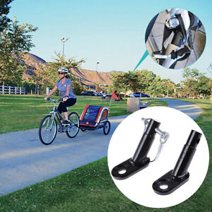 Bike Trailers Bicycle Coupler Angled Elbow Attachment For InStep Hitch Schw O0T8