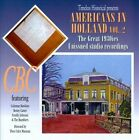Americans In Holland, Vol. 2: The Great 1930's Unissued Studio Recordings by Coleman Hawkins & Benny Carter (CD, 2010, Timeless (Label))