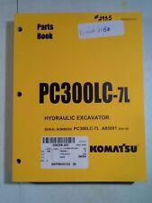 Komatsu Pc300Lc-7L & Pc300Lc-7L Parts Book
