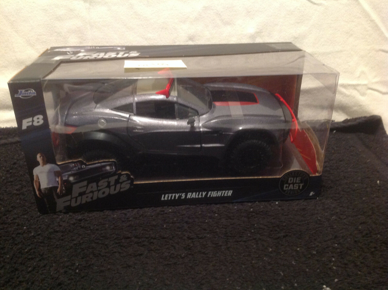 JADA FAST AND FURIOUS  LETTY'S RALLY FIGHTER  DIE CAST 1 24 NRFB