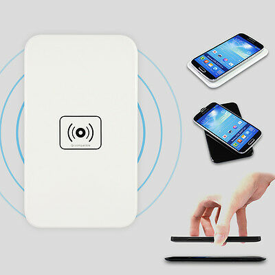 Qi Wireless Power Charger Pad & Receiver For Samsung Galaxy S3 S4 S5 NOTE 2 / 3