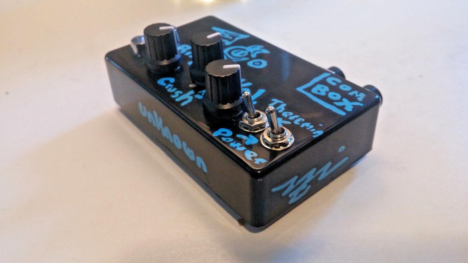 Pocket synth LoFi Theremin Circuit bent ring mod   bit crusher drone guitar effe