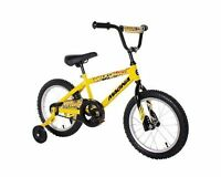 Dynacraft Magna Major Damage Boy's Bike (16-inch Yellow/black)