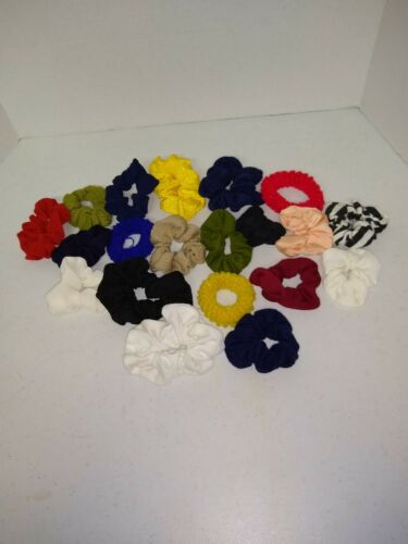 vintage 1980s scrunchie lot