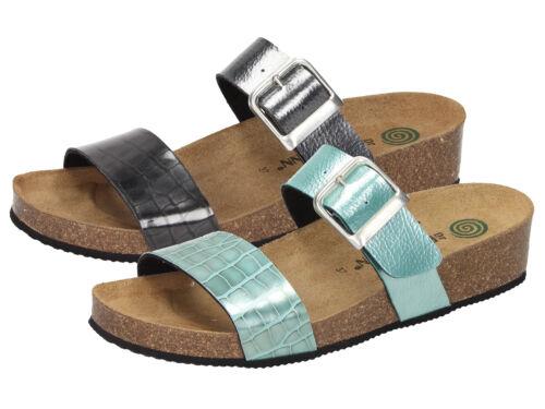 Dr brinkmann Chaussures 701213 Femmes Metallic Paillettes Talons Mules Sabots