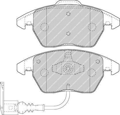 Brand New Ferodo Front Brake Pad FDB1641-12 Month Warranty!