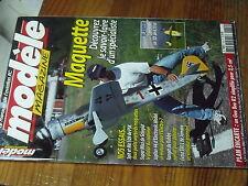 5µ?§ Revue Modele Magazine n°629 Plan encarté Gee Bee R2 / Silence Ranger Fw 190