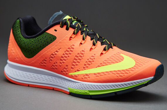 ac77d59885f Nike Air Zoom Elite 7 Women Size 12 HYPER Orange volt-bright Crimson 654444  806 for sale online