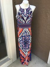 5d1f9998f5 item 6 New Stunning Chico s Scarf Print Maxi Dress Blue White Red Size 2    L 12 14 NWT -New Stunning Chico s Scarf Print Maxi Dress Blue White Red  Size 2 ...