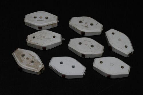 alter Schnurschalter Schalter Lampe Bakelit Zwischenschalter weiß vintage
