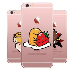 outlet store db65b 80697 Details about Gudetama Lazy Egg Silicone Case Cover iPhone X XR 8 7 6 Plus  5 5C 4 Samsung