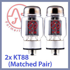 2x JJ Tesla KT88 Vacuum Tubes, Matched Pair TESTED