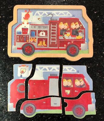 Puzzle Wooden Mini Puzzle 6 Piece Fire
