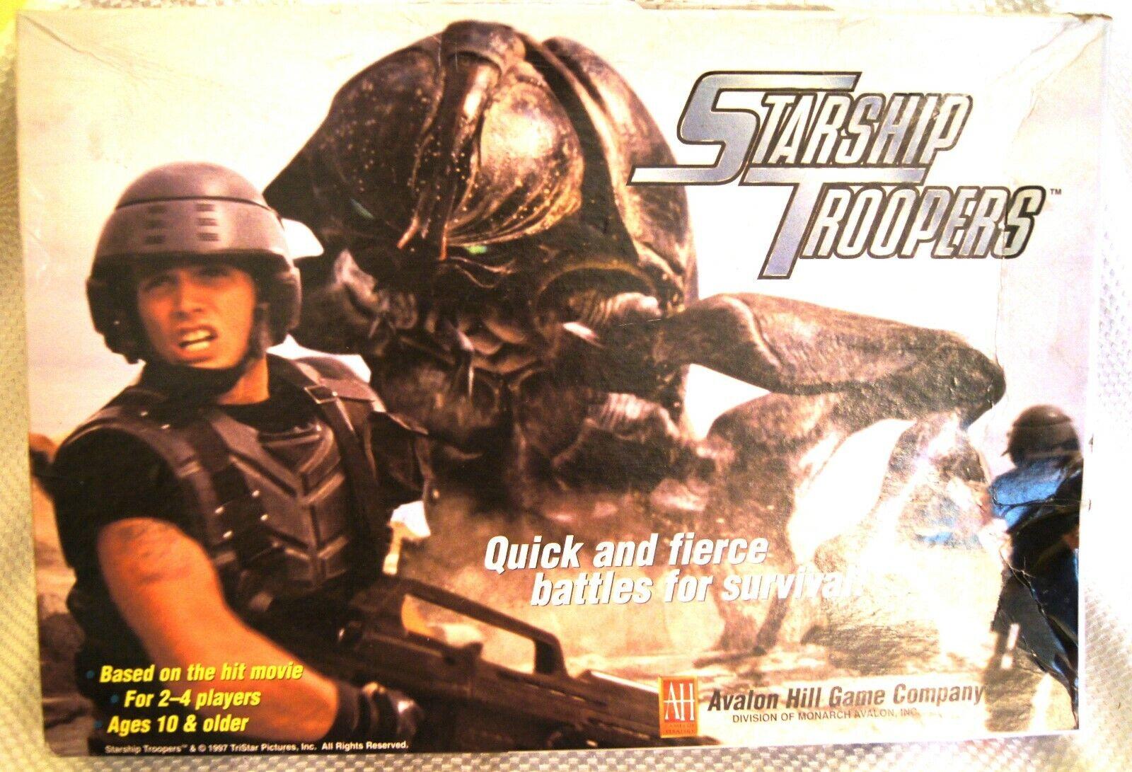 Avalon Hill-STARSHIP TROOPERS GAME-Bataille pour la survie - (non  perforé Rare)  meilleure mode