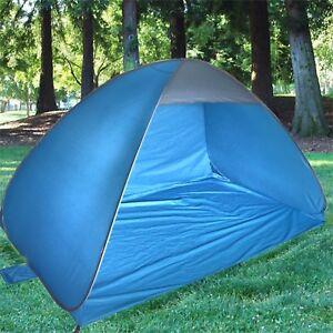 the best attitude 1e9f6 c27fb Details about Pop Up 2 Man Beach Camping Festival Fishing Garden Kids Tent  Sun Shelter