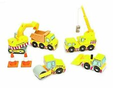 Le Toy Van wooden hand painted TV442 Construction Set