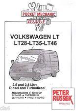 volkswagen vw lt lt28 lt35 lt46 1997 2002 diesel owners workshop rh ebay co uk volkswagen lt service manual vw lt35 service manual