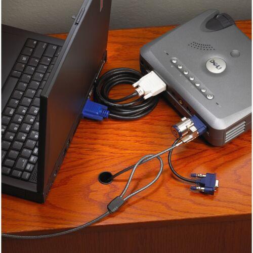 monitor Blocco di sicurezza PC proiettore TARGUS 4 in 1 Cavo Di Qualità Blocca per Laptop