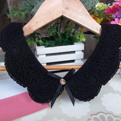 Lace Collar Detachable Lapel Shirts Blouse Tops Sweaters False Collars Choker