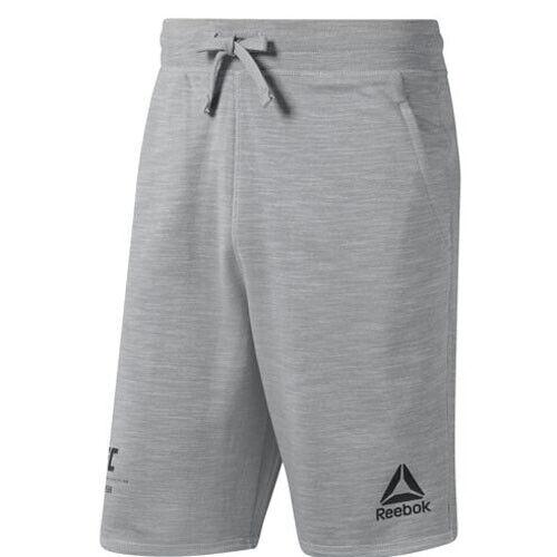 Reebok DU4571 Men Training UFC FG Fight week shorts grey