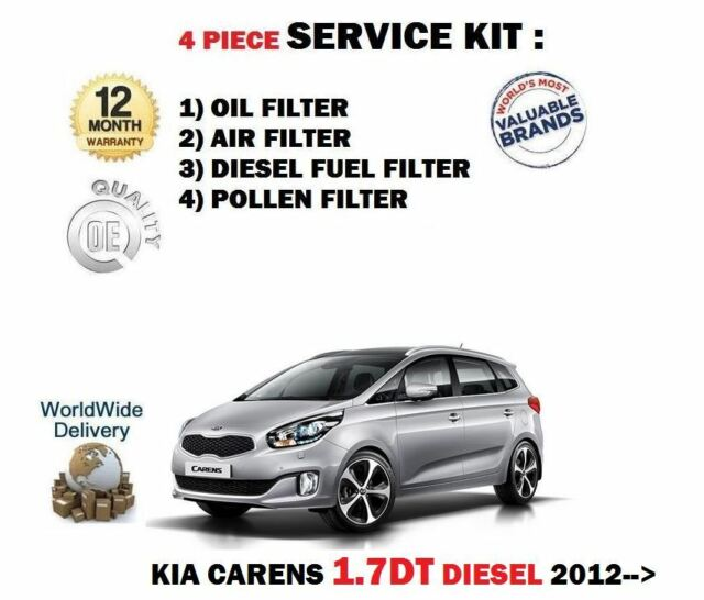 SERVICE KIT for KIA CEE/'D 2012-2018 JD 1.4 1.6 CRDI BOSCH OIL AIR FILTERS