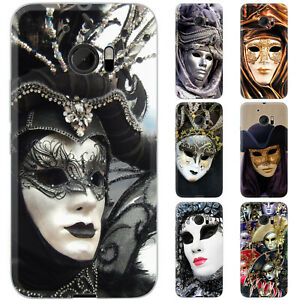 dessana-Karneval-Venedig-Silikon-Schutz-Huelle-Case-Handy-Tasche-Cover-fuer-HTC