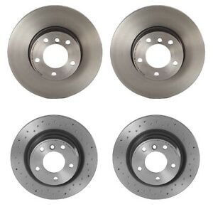Brembo Front and Rear Brake Disc Rotors Vented Kit For BMW F22 228i F30 F32 328i