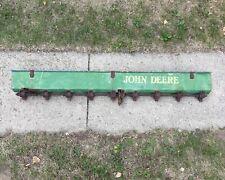 Vintage John Deere Van Brunt Seeder Planter Metal Box Farm Art Flowers Repurpose