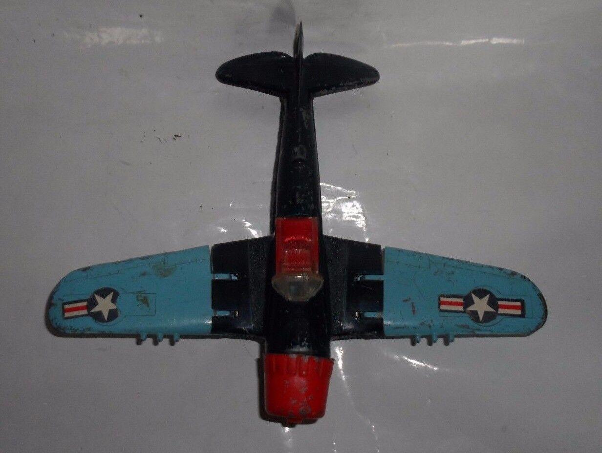 Vintage Hubley Metal Fighter Airplane-495