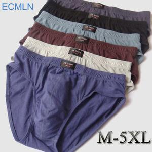 1bf1b85d4 100% Cotton mens briefs plus size XL - 5XL men underwear comfortable ...