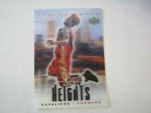2003-04-UPPER-DECK-CITY-HEIGHTS-LEBRON-JAMES-Card-B33-Cleveland-Cavaliers