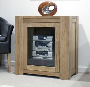 Living Room Furniture Hawaii michigan hi-fi storage cabinet unit solid oak living room furniture