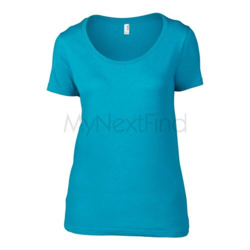 Anvil Womens Featherweight Scoop T-Shirt