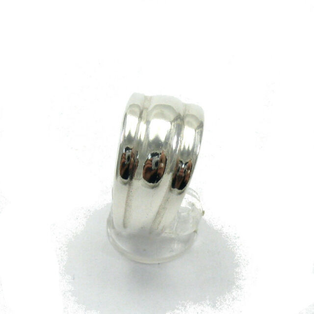 STERLING SILVER RING BAND PLAIN SIZE 4-11 NEW SOLID 925 R000024